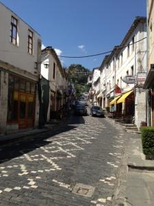 Street in Gjirokaster