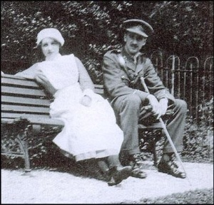 Vera and Edward in Uniform